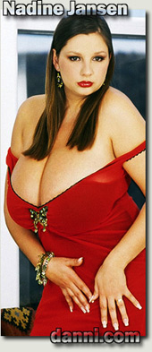 Nadine Jansen huge boobs videos and pics