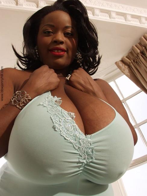 Biggest black boobs in world 5