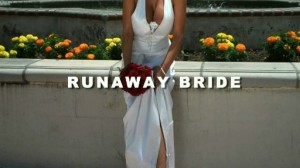 Denise Milani looking at her own big Boobs - Runaway Bride video