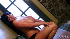 busty Rachel Aldana giant boobs video clip