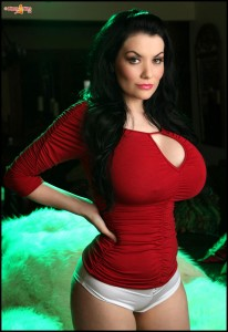 proudly present super sexy 32GG cristmas babe Dahlia Dark big tits gallery