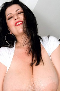Natalie Fiore showing her huge Tits free big tits gallery