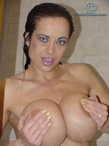nasty busty babe Donita Dunes got hot giant tits