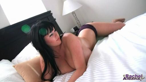 Heavy breasted Rachel Aldana new movie at rachelaldana.com
