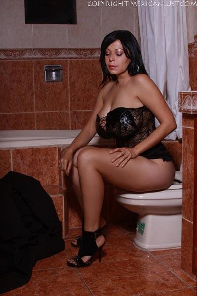 stockings latina creampie