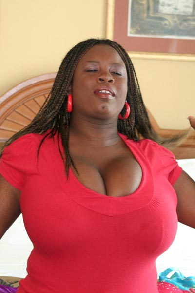 tits mianna ebony big thomas Black