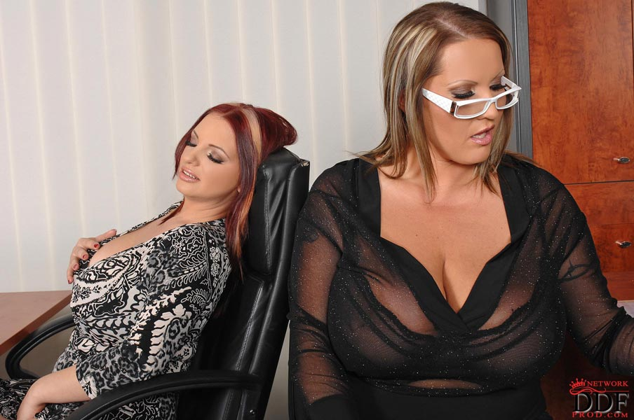 Last photo set of big busty girls Laura M. and Joanna Bliss