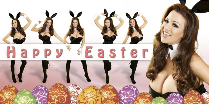 Happy Easter from Jordan Carver