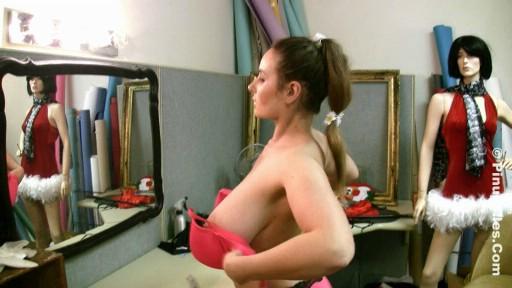 Amazing big boobed HD video debut of 34H Vassanta