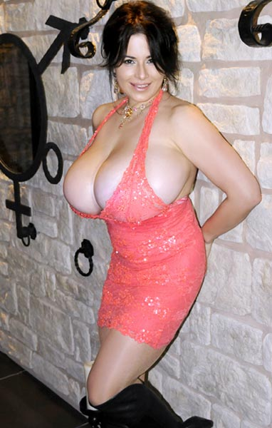 Gorgeous large breasts