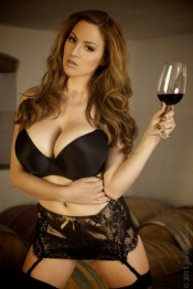 Jordan Carver with a brand new images