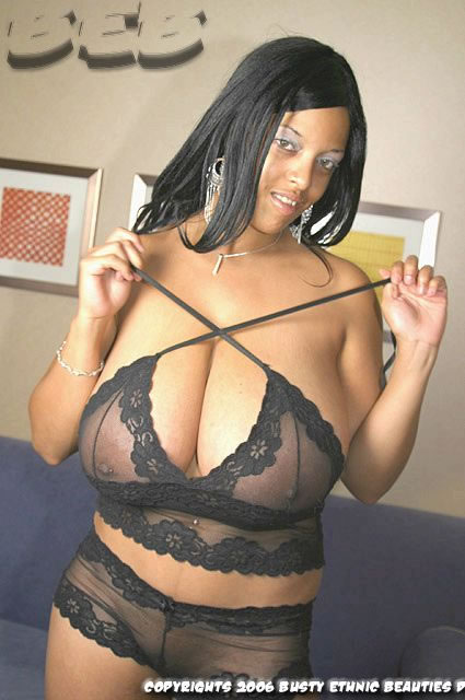 beauties Big ethnic black from busty tits