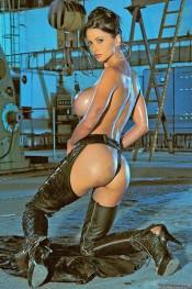 Veronica Zemanova topless model