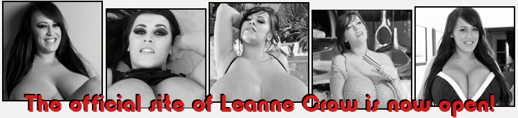 The Official Site of British busty pinup megastar Leanne Crow