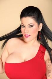 busty latino babe Ana Rica