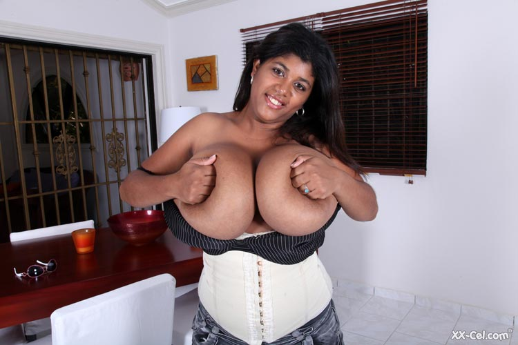 Kristina Milan is with a new very hot photo set – Girdle