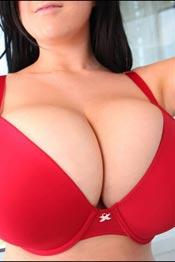Rachel Aldana with natural huge knockers