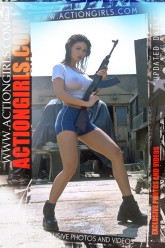actiongirls poster Veronika Zemanova