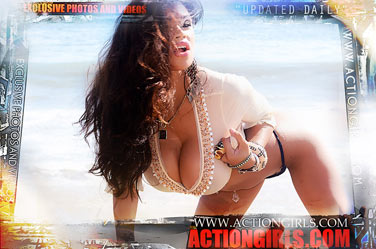 Armie Fortes at actiongirls poster