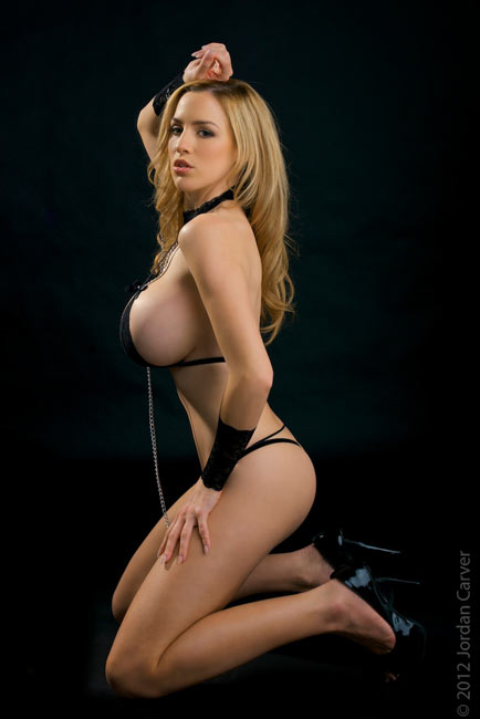New incredible photo sets at Jordan Carver's official site