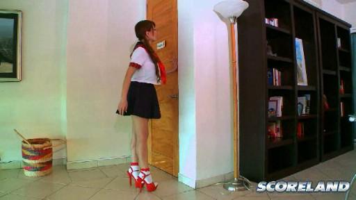 Big boob Japanese girl Hitomi Tanaka in School Of Rack