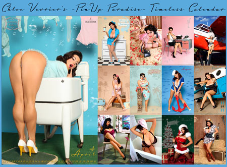 Chloe Vevrier Calendar!