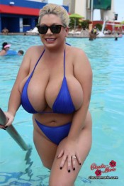 fake huge boobies