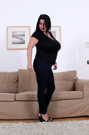XX-Cel debut for the beautiful busty Natalie Fiore
