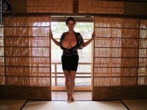 breasted bombshell Chloe Vevrier