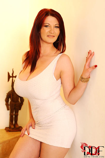 Busty redhead Vanessa in Her Heavenly Bodies