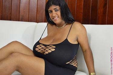 kristina in sexy black dress