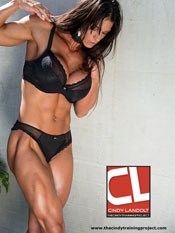 cindy landolt in lingerie photo