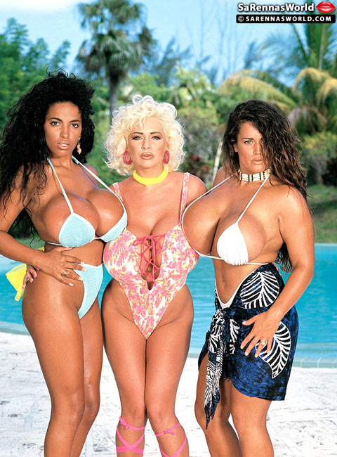 Sarenna Lee, Busty Angelique and Tawny Peaks