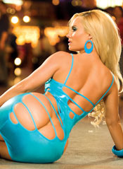 Charismatic babe with sexy juicy ass – Coco Austin