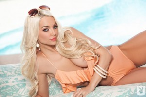 playboy blonde babe