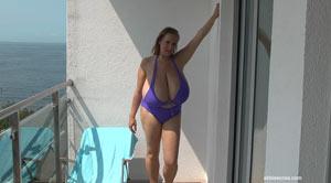 abbi show her massive naturals