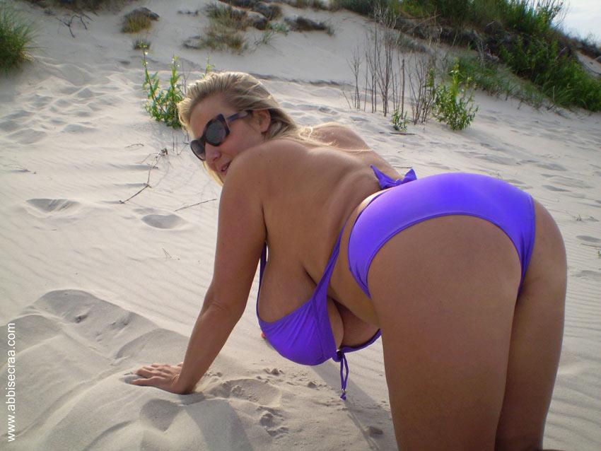 abbi secraa boobs Beach