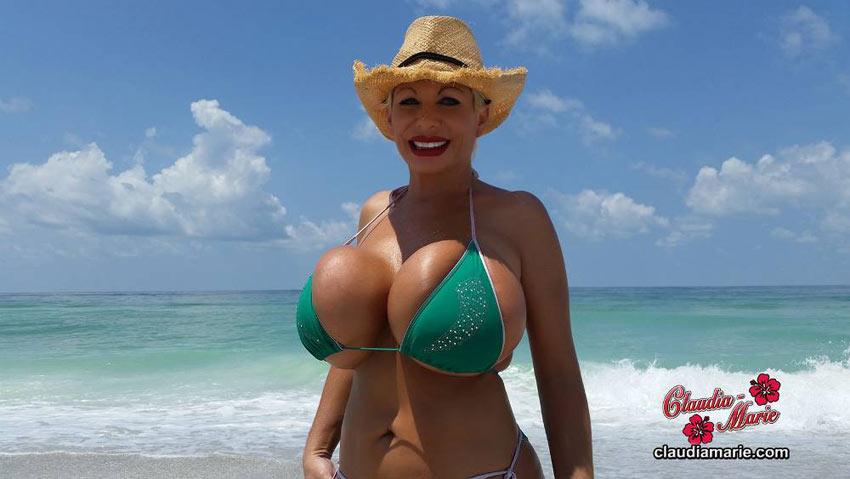 milf beach video