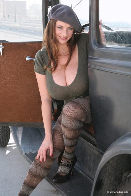 Nadine milena boobs velba jansen opinion you