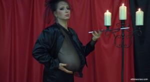 abbi in black november lady
