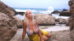 agnetis natural large boobs
