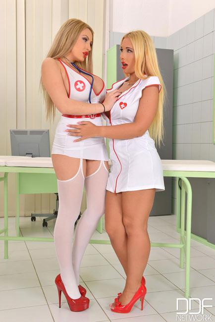 Anastasia Sweet and Kyra Hot – Two sexy nurses