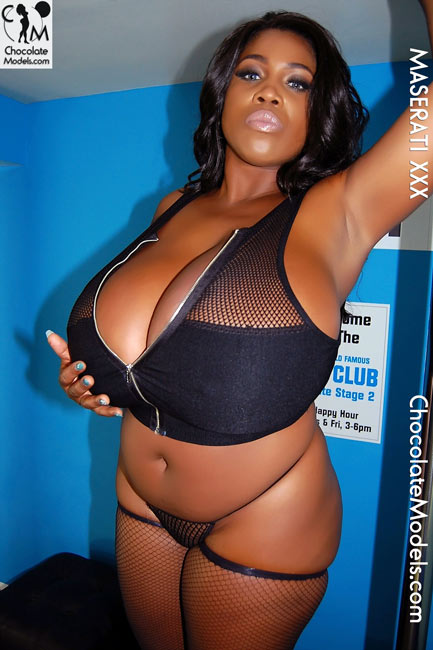 Busty chocolate boobs