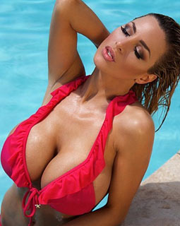 Question: What happens with Jordan Carver's website?