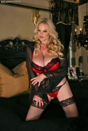 kelly madison in stockings