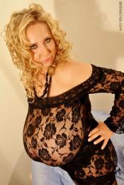 abbi secraa in lingerie