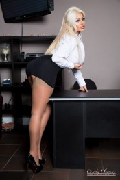 sexy office babe
