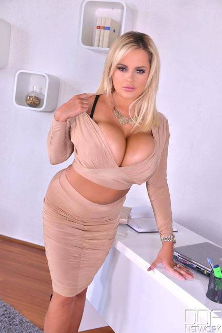 Office big tits