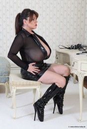 hot sexy milf in boots