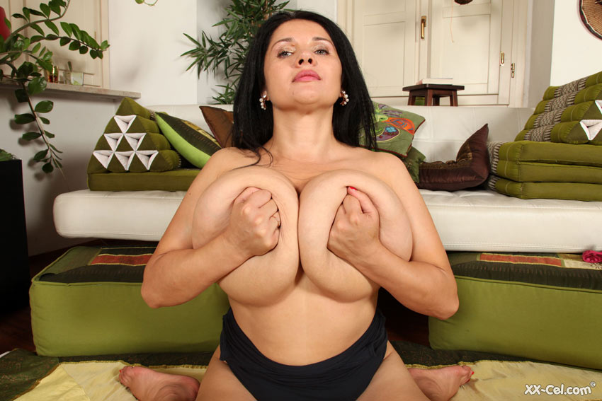 Mature big fake tits pictures